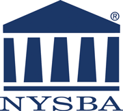 New York bar association logo